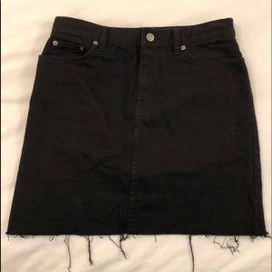 Black Ralph Lauren Jean Skirt